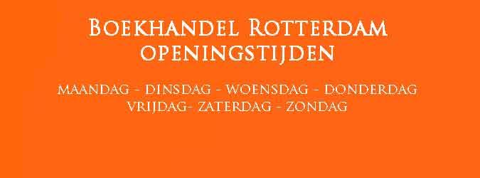 Boekhandel Rotterdam Openingstijden