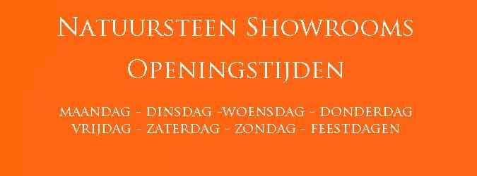 Natuursteen Showrooms Openingstijden
